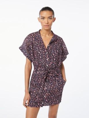 Frame Rolled Sleeve Dress