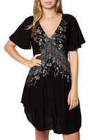 O'Neill Women's Clovis Print Woven Dress