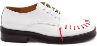 J.W.Anderson Derby stitch shoes