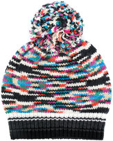 Missoni pom pom hat - women - Nylon/Cashmere/Wool - One Size