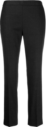 Alberto Biani Mid-Rise Straight-Leg Trousers