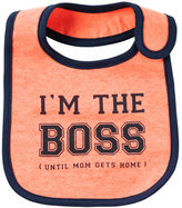 Carter's Neon I'm The Boss Teething Bib