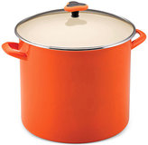 Rachael Ray Enamel on Steel 16 Qt. Covered Stockpot