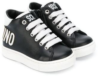 MOSCHINO BAMBINO Logo Sneakers