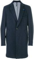 Tombolini long single-breasted coat