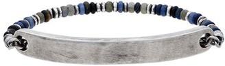 M. Cohen 9 mm bar sterling silver bracelet