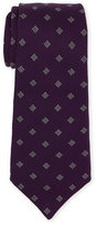 Roda Purple Neat Silk Tie