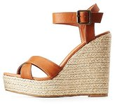 Charlotte Russe Two-Piece Espadrille Wedge Sandals