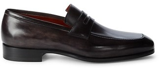 Magnanni Mercer Leather Penny Loafers