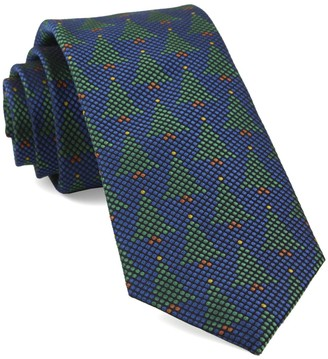 Tie Bar Holiday Network Royal Blue Tie