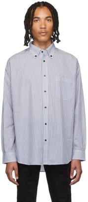 Stolen Girlfriends Club Blue and White Fine Line Painter Shirt
