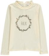 Little Karl Marc John Tolky Crown Print T-Shirt