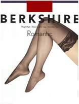 Berkshire Women's Romantic Lace Top Thigh High Pantyhose 1363