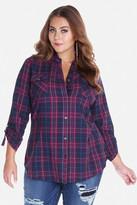 Fashion to Figure Brookhaven Plaid Shirt