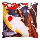 Arlette Ess Koi II Large Velvet Floor Cushion Style 1