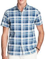Polo Ralph Lauren Standard-Fit Plaid Short-Sleeve Woven Shirt