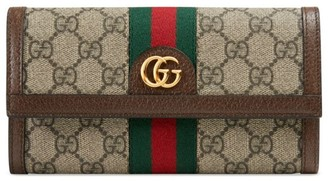 Gucci GG Supreme Flap Wallet