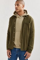Urban Outfitters Micro Check Grindle Flannel Button-Down Shirt