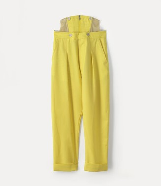 Vivienne Westwood Corset Trouser Yellow