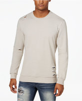 INC International Concepts Men's Ripped Sweatshirt, Only at Macy's