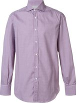 Brunello Cucinelli gingham check shirt