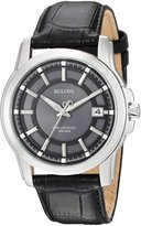 Bulova Men's Precisionist Leather strap Watch 96B158