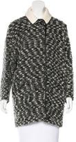 Isabel Marant Virgin Wool-Blend Short Coat