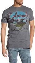 Public Opinion Short Sleeve Colorado Crew Neck Graphic Tee