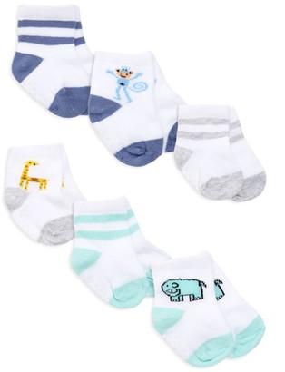 Aden Anais Baby's Jungle Jams 6-Piece Socks Set