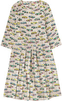 Cath Kidston Fast Cars Pleated Dress