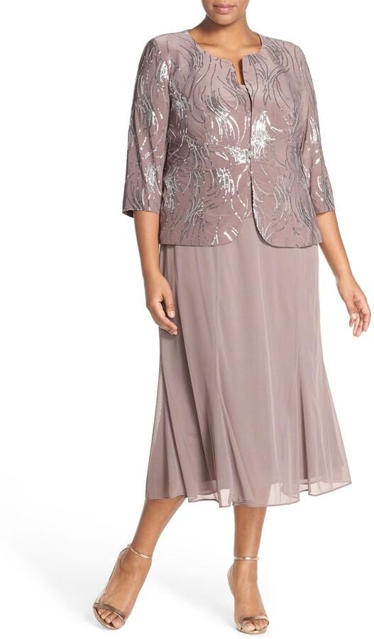 475914beed2 Alex Evenings Women s Plus Sizes - ShopStyle