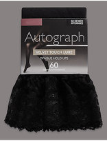 Autograph 60 Denier Velvet Touch Opaque Hold-Ups
