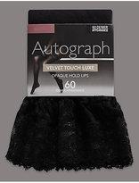 Autograph 60 Denier Velvet Touch Opaque Hold-Ups