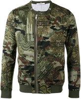 Givenchy camouflage bomber jacket - men - Cotton/Polyamide/Polyester - S