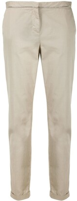 Fabiana Filippi Mid-Rise Slim-Fit Chino Trousers