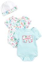 Kate Spade Infant Girl's 2-Pack Bodysuits & Cap Set