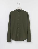 Boden Linen Cotton Grandad Shirt