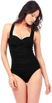 Voda Swim Black Envy Push Up Bandeau One Piece