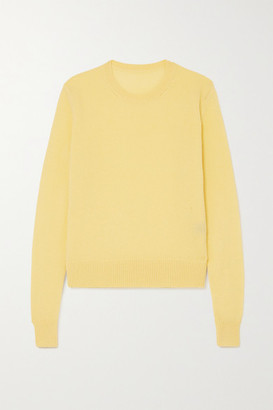 The Elder Statesman Tranquillity Cashmere Sweater - Yellow