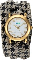La Mer Women's LMSATURN150 Analog Display Japanese Quartz Multi-Color Watch