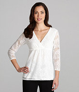 Nurture Lace Empire-Waist Top