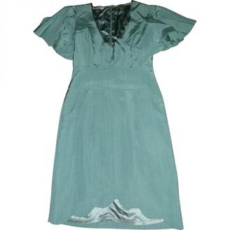 Matthew Williamson Green Cotton Dress for Women