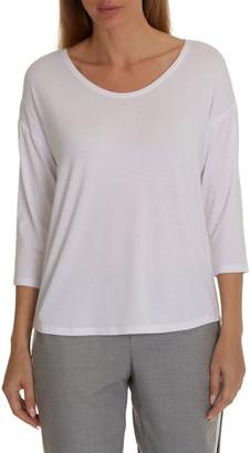 Betty Barclay Betty & Co. Three-Quarter Sleeved T-Shirt, Bright White