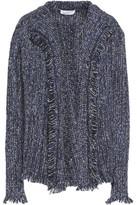 Velvet by Graham & Spencer Fringed Tweed Jacket