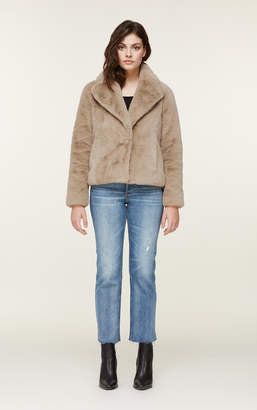 Soia & Kyo EMANUELA relaxed-fit faux fur jacket