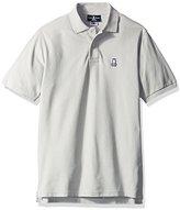 Psycho Bunny Men's Classic Polo Shirt, Grey, 6/Large