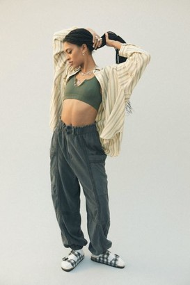 Urban Outfitters Isla Linen Jogger Pant