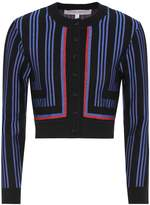 Carolina Herrera Striped wool-blend cardigan