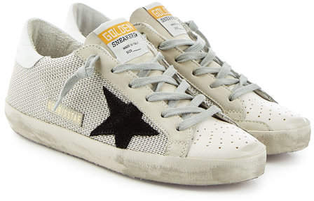 Golden Goose Super Star Sneakers with Suede