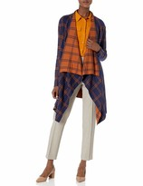 Chaus Womens Long Sleeve Novelty Stitch Cardigan